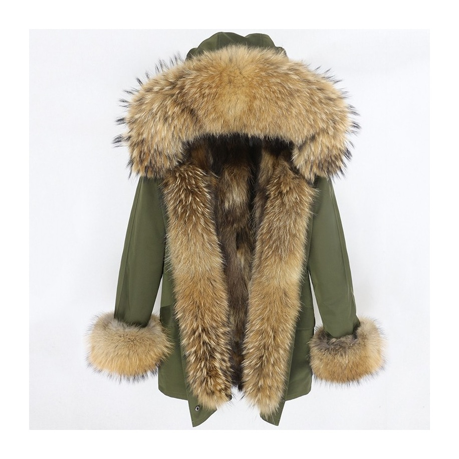 Dámská bunda Tina - mýval + liška