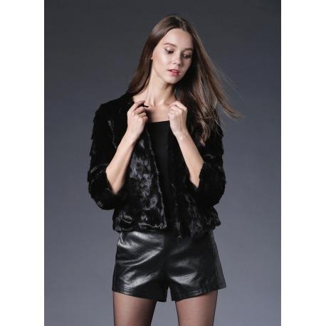 Kožešinový kabátek Emma - norek