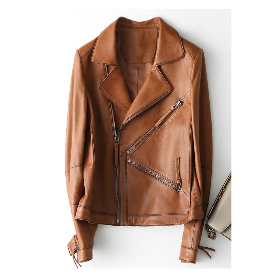 Dámská kožená bunda Mila