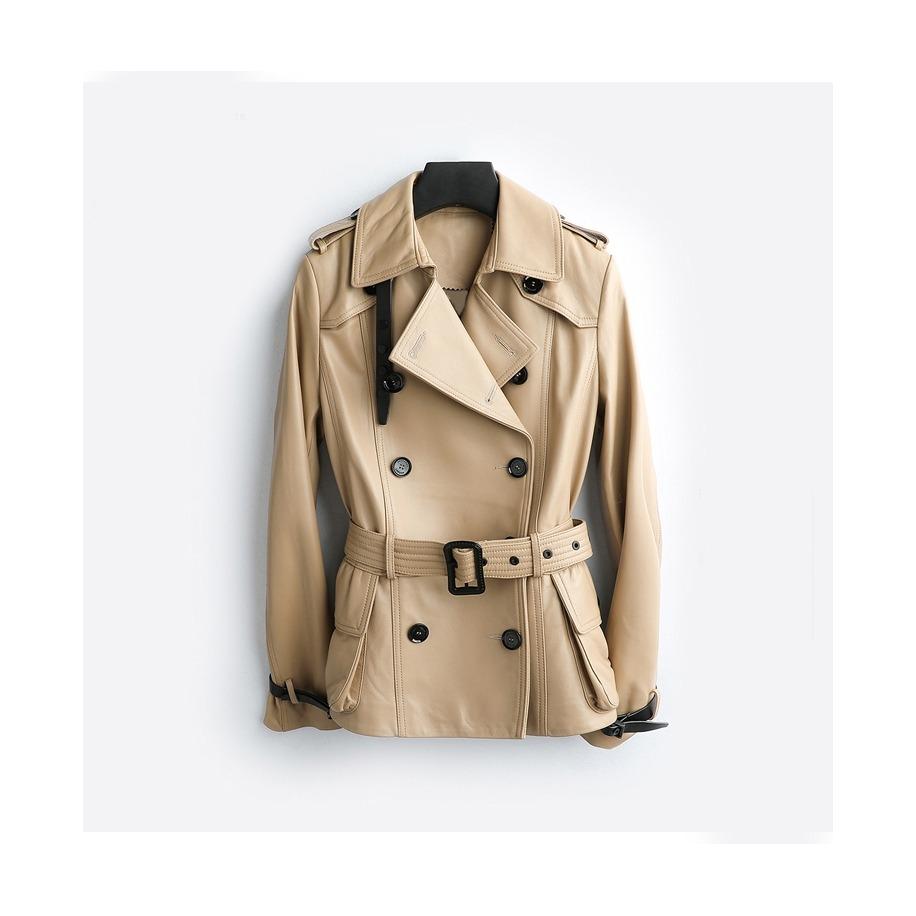 Dámský kožený kabát Gigi