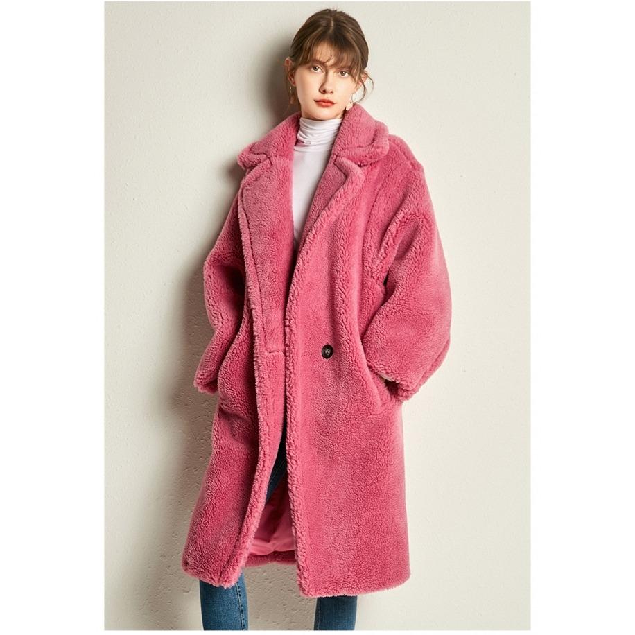 Vlněný kabát z ovčí vlny Dara