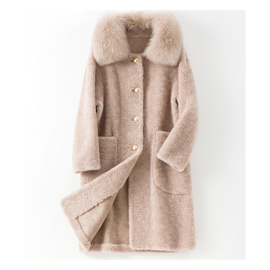 Dámský kabát Lisa - liška