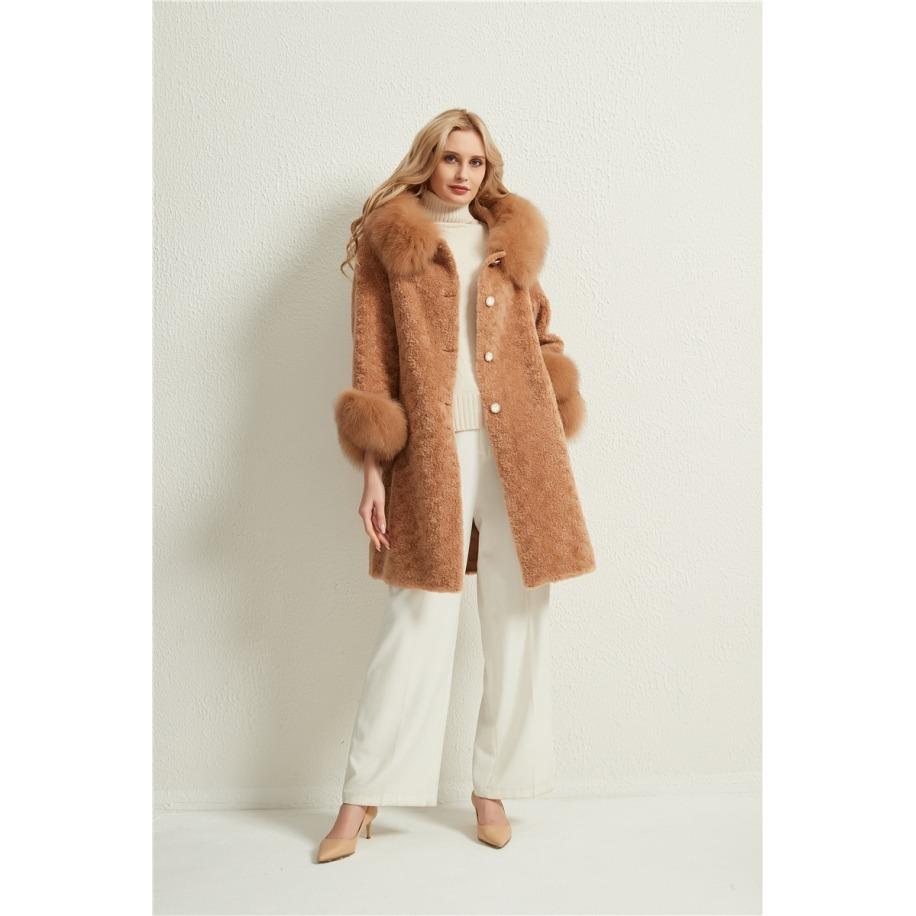 Dámský kabát Nancy - liška