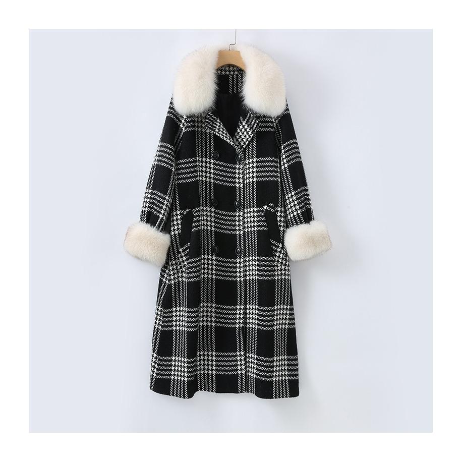 Dámský kabát Kelly - liška