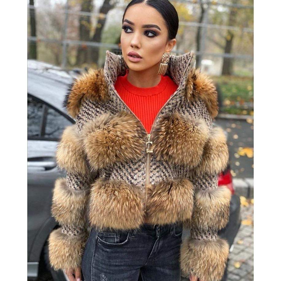 Kožešinový kabátek Rita -...