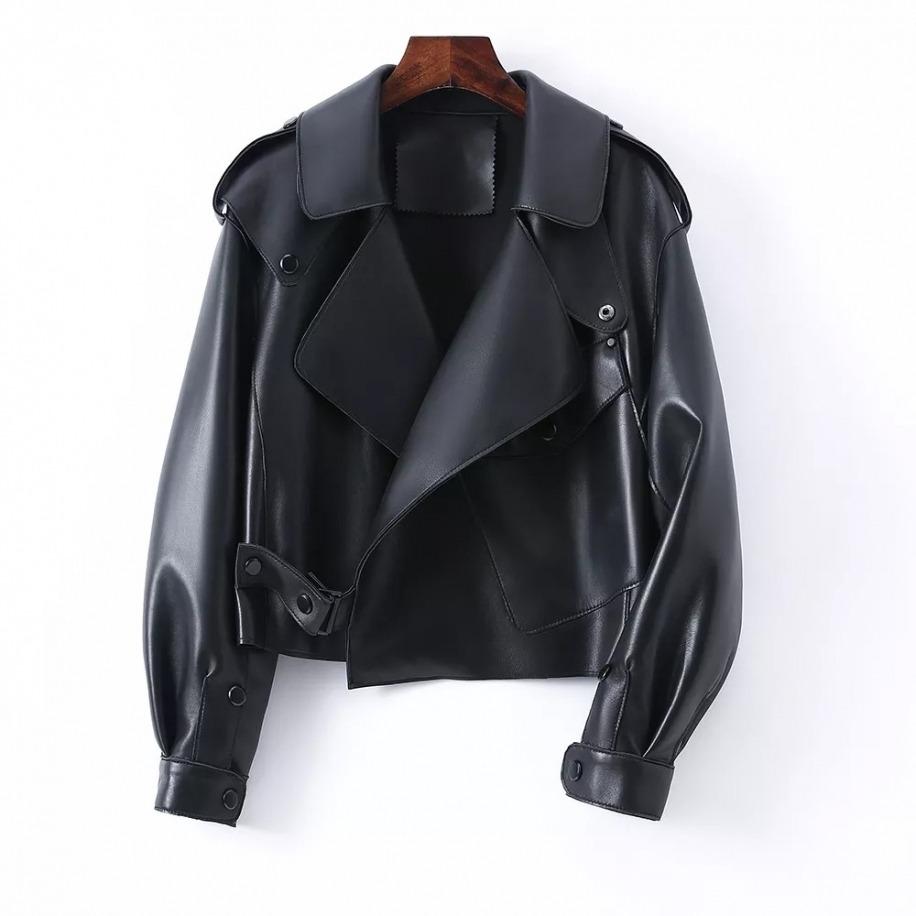 Dámská kožená bunda Macy
