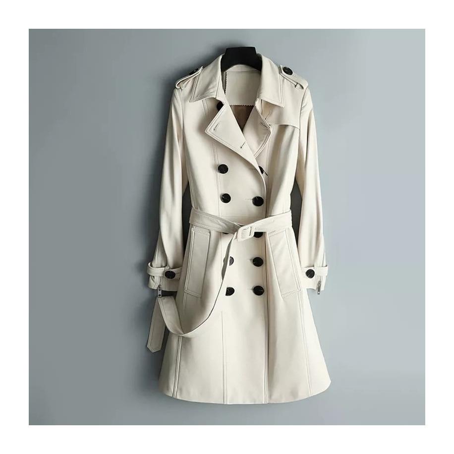 Dámský kožený kabát Roxanne