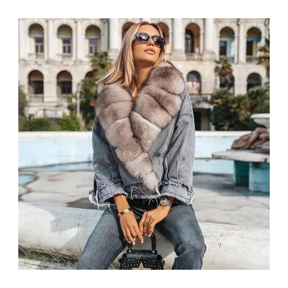 Dámská bunda Misha - liška