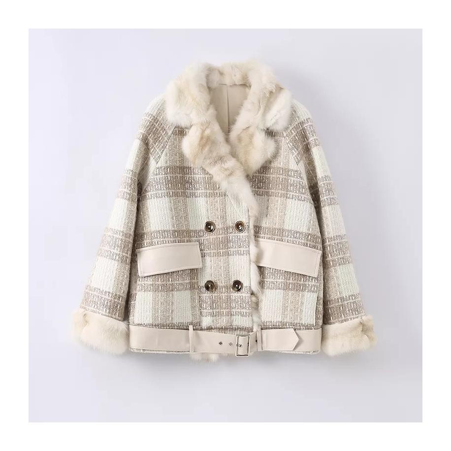 Dámský kabát Veronica - liška