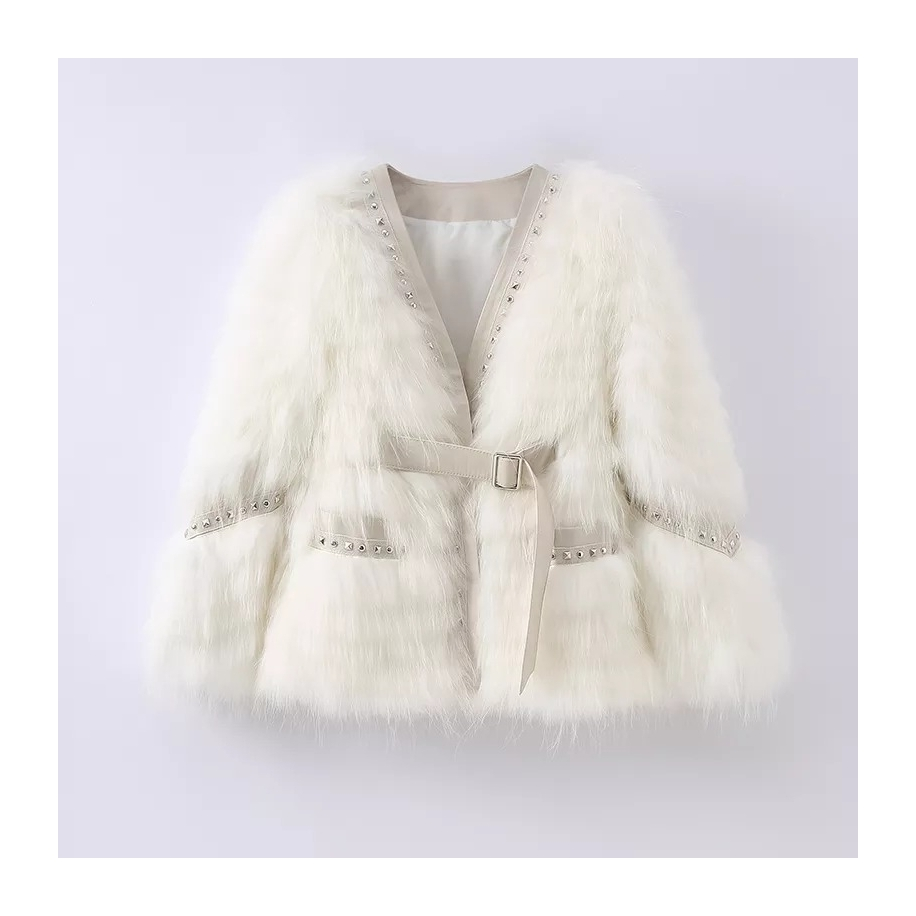 Dámský kabát Rose - liška