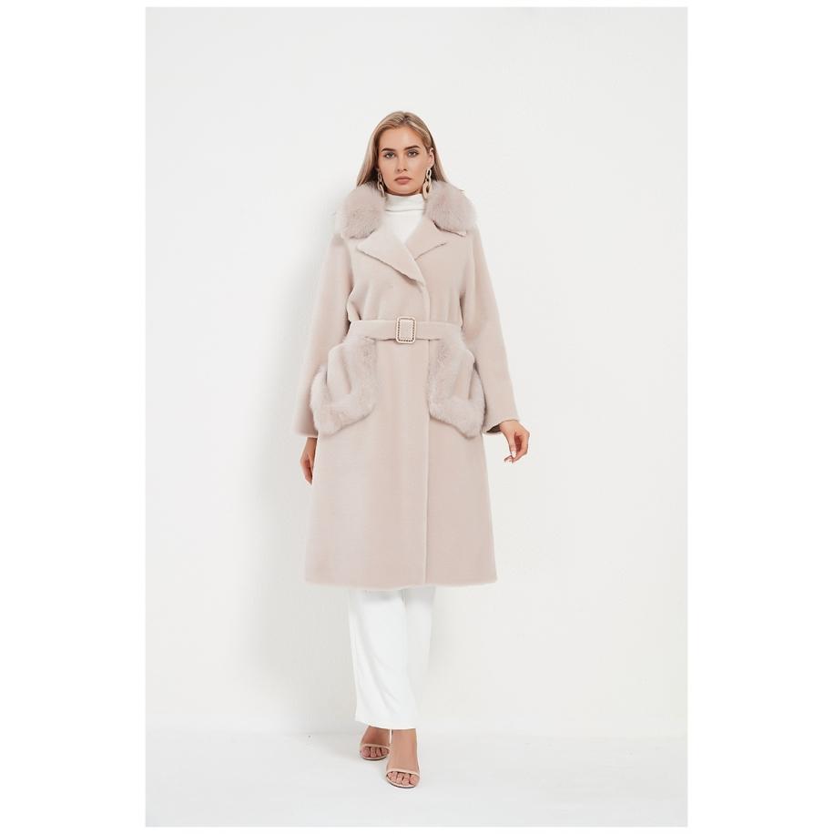Dámský kabát Tanya - liška