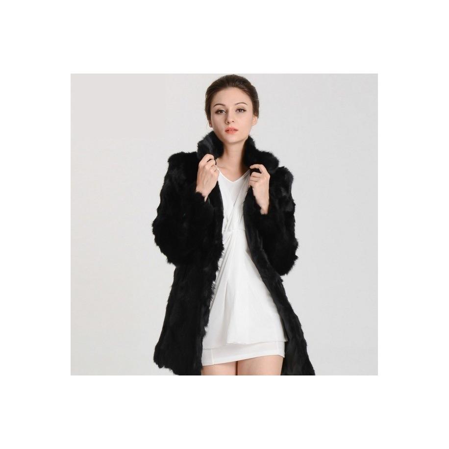 Kožešinový kabát - králík